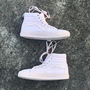 Vans Shoes - VANS Sk8 Hi Power Pink size 9 (women's)